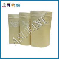 Ziplock Kraft Paper Tea Packaging Bag