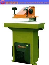 China Swing Arm Hydraulic Cutting Machine 22T/27T on sale