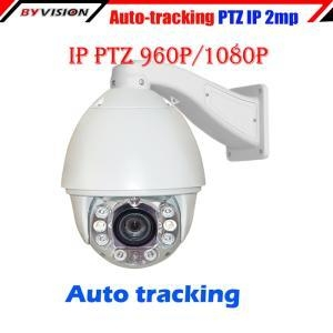 China Auto Tracking PTZ IP Camera on sale
