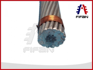 China Aluminium Conductor Steel Reinforced/ACSR conductor BS 215 standard on sale