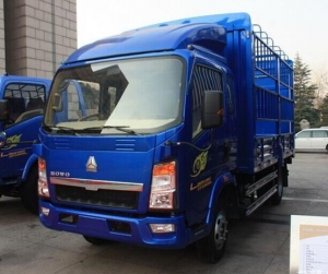 China HOWO LIGHT STAKE TRUCK 7T on sale