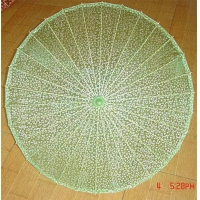China Parasols RH-GPS05 Glitter-printed silk parasol on sale