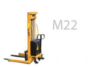 China M22 Basic Series Manual Straddle Stacker on sale