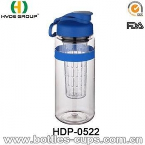 China Tritan Fruit Infuser Water Bottle Custom Logo Bottle with Filter on sale
