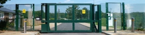 China PAS 68 Terra Swing Gate with Security Infill creates the Terra Hinged Gate on sale