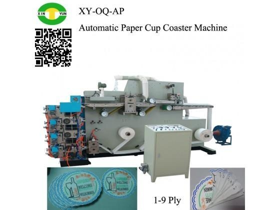 China Automatic Paper Cup Coaster Making Machine