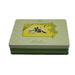 China Colorful Gift packaging tin box on sale on sale