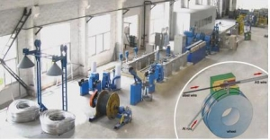 China CONTINUOUS EXTRUSION LINE FOR ALUMINIUM CLADDING STEEL (ACS) WIRE on sale