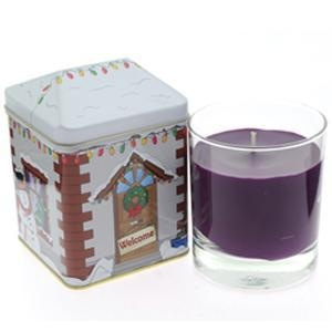 China Wax Lyrical Noel Avenue Glass Jar Candle - Spiced Fig on sale