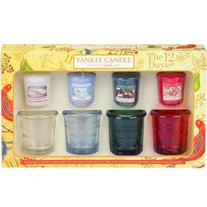 China Yankee Candle Christmas Gift Set - Buckets & Samplers on sale