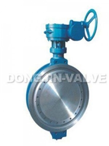 China Double-eccentric Metal-seat Butterfly Valve on sale