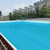 China Degaulle Galvanized Steel Inground Swimming Pool for sale