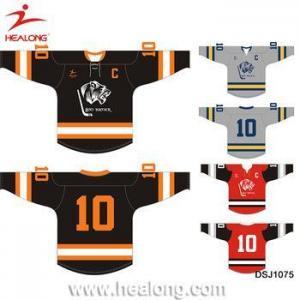 China Top Sale Ice Hockey Wear Custom Half And Half Jerseys Uniforms China Supplier on sale