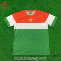 Green Color Sublimation Soccer Football Uniform Sports Jersey New Model Sportswear