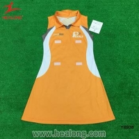 China Cheap Custom Any Logo Netball Dress Jersey Uniforms on sale