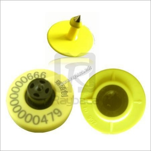 China RFID Button Electronic Ear Tag for Sheep on sale