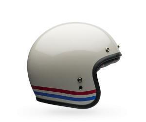 China Bell Custom 500 Open Face White/Red/Blue Helmet on sale