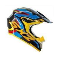 Shark SX2 DOOLEY Black Blue Yellow MX Helmet