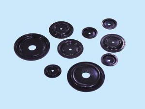 China Wholesale High Quality OEM Excellent Elasticity EPDM Black Rubber Air Pump Diaphragm factory on sale