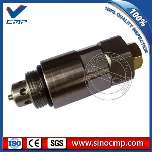 China CP-T0206Kato HD700-5 HD700-7 Main Relief Valve for Excavator Hydraulic Parts on sale