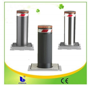 China Full automatic pneumatic bollards with traffic light on sale