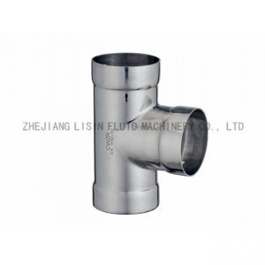 China Stainless Steel Socket Welding Equal Tee on sale