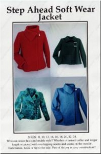 China ON SPECIAL...Step Ahead Soft Wear jacket pattern from CNT on sale