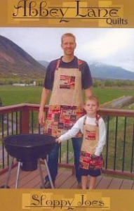 China INTRODUCTORY SPECIAL...Sloppy Joes #217 Boy's & Men's apron sewing pattern from Abbey Lane Quilts on sale