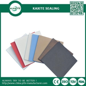 China Skived Moulded PTFE Etched Teflon Sheet With One Side Stick On Pumps Tanks on sale