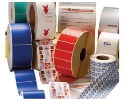 China Sirius Coding manufacture Thermal transfer labels, plain or printed on sale