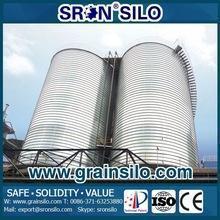China Hot and easy installation Galvanized corrugated steel grain silo on sale