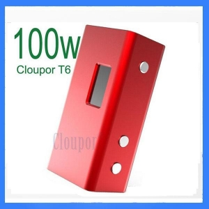China Cloupor T6 100W box mod on sale