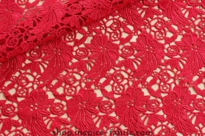 China Fashionable Swiss Lace Material African Lace Guipure Fabric! Hot Sale African Women Wearing Lace Fab on sale