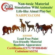 China Non-toxic Material Life-like Wild Animals Play Set(6 Asst) on sale