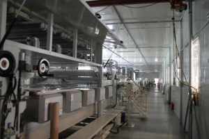 China UV fiber cements board production line on sale