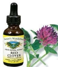 China Red Clover Liquid Extract, 1 fl oz / 30ml (Nature's Wonderland) on sale