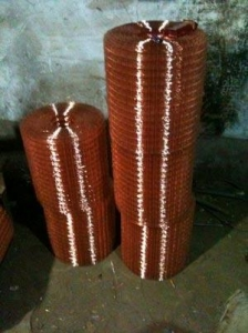 China Copper Coated Welded Mesh on sale