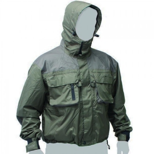 China OEM/CUSTOM Green Windbreaker Fly Fishing Hooded Rain Coat Jacket on sale