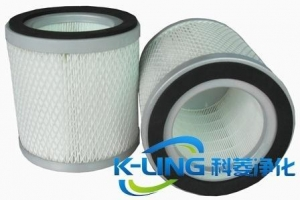 China Cylindrical Air Filter Cartridge on sale