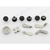 Replacement Thumb Grips Stick + D-Pad And Bumper Button Bullet Set For XBOX ONE Elite Controller