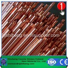 China Copper Clad Steel Earth Rod Products Earthing Grid Copper Ground Bar Kits on sale