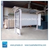 China Bus Shelter With Advertising Light Box for sale