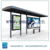 China Bus Stop Bus Shelter Bus Station Outdoor Advertising for sale
