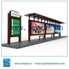 China Customized Bus Shelter-Street Furniture Bus Shelter-Advertising Bus Shelter for sale