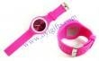 China Round Jelly Sport Silicone Rubber Band Watch on sale