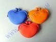 China Fashion Heart Lady/Girl/Women Silicone coin purse on sale
