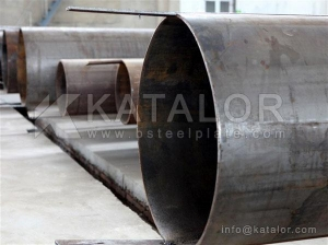 China ASTM A714 grade I High-Strength Low-Alloy Welded pipe/tube on sale
