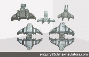 China Electrical hardware fittings Suspension clamp on sale