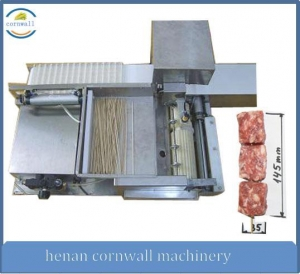 China automatic meat skewer machine on sale