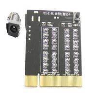 PCI-E PCIE Express 8X 4X Slot Tester Checker card